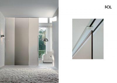 BLR Interiorismo Madrid (A03-Modelo Light puerta corredera 2 hojas)