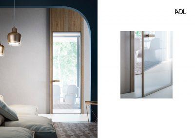 BLR Interiorismo Madrid (A03-Puerta batiente modelo Piana)