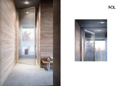 BLR Interiorismo Madrid (A03-Puerta batiente pivotante mod Piana-1)