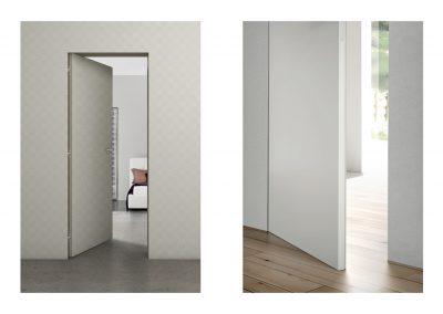 BLR Interiorismo Madrid (A03 Puerta filomuro modelo Zero)