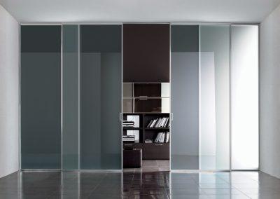 BLR Interiorismo Madrid (A03-Puerta modelo Mitika corredera 4 hojas)