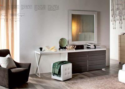 BLR Interiorismo Madrid (C09-Comoda escritorio mod Dyno)