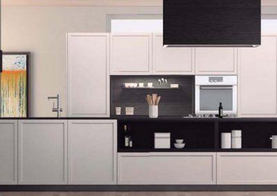 BLR Interiorismo Madrid (I01-the green kitchen Living Quadrata-3)