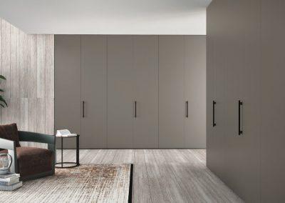 BLR Interiorismo Madrid (J01-Armario puerta mod Plana-M40)