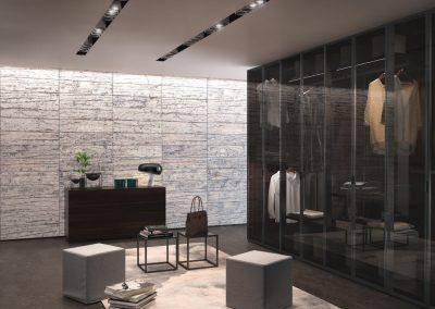 BLR Interiorismo Madrid (J01-Armario puertas mod Glass)