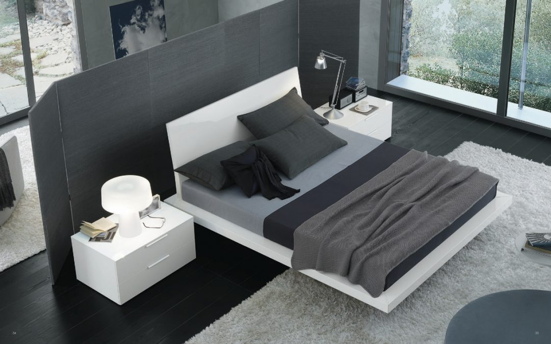 Dormitorio de diseño elegante