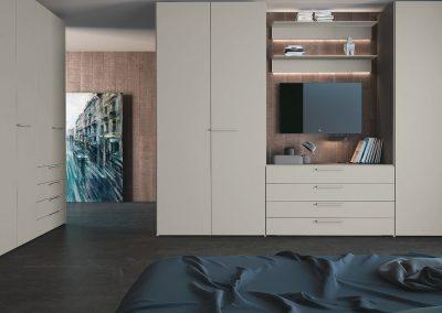 BLR Interiorismo Madrid (J01-Composicion de Armario puerta mos Plana-M05)