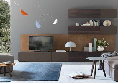 BLR Interiorismo Madrid (J01-Composicion modelo Open Roble Therm y laca visone mate)