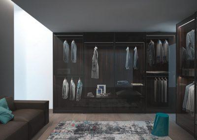 BLR Interiorismo Madrid (J01 armario puertas mod Glass)
