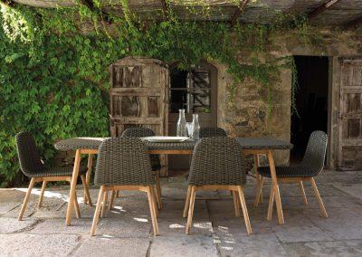 BLR Interiorismo Madrid (P04 Mesa y sillas colección Round)