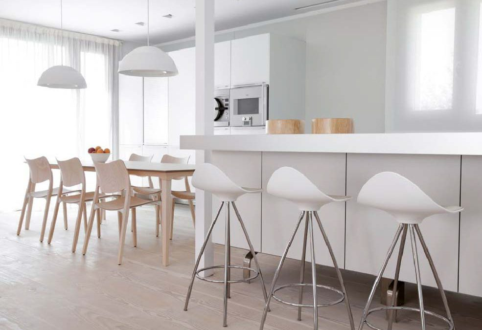 Cocinas modernas en colores trendy