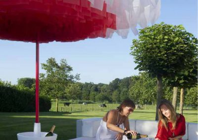 BLR Interiorismo Madrid (S12-Parasol sombrilla mod Bloom)