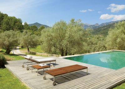 BLR Interiorismo Madrid (V05 Tumbona colección Home sencilla recta)