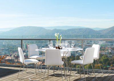 BLR Interiorismo Madrid (V05 Mesas y sillas colección Slim)