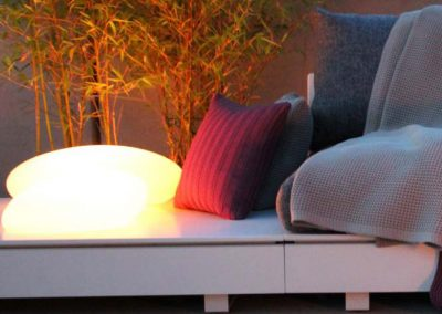 BLR Interiorismo Madrid (V05-Lampara luz exterior)
