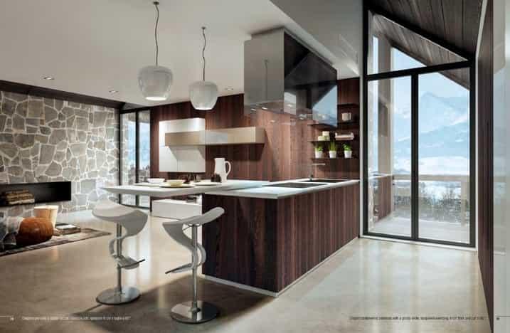 Cocinas de diseño Madrid: islas y cocinas abiertas