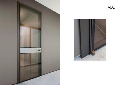 BLR Interiorismo Madrid (A03-Puerta batiente Piana con moldura)