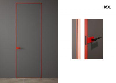 BLR Interiorismo Madrid (A03-Puerta batiente mod Piana-3)