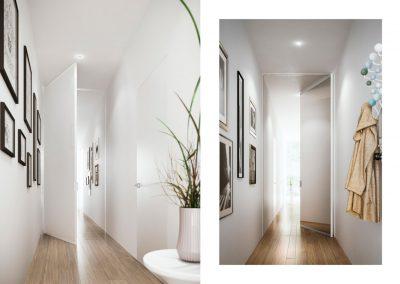 BLR Interiorismo Madrid (A03-Puerta batiente pivotante mod Piana-2)