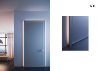 BLR Interiorismo Madrid (A03-Puerta batiente pivotante mod Piana-3)