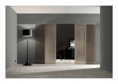 BLR Interiorismo Madrid (A03 Puerta modelo Light corredera 2 hojas)