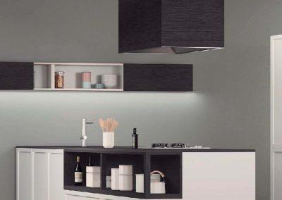 BLR Interiorismo Madrid (I01-the green kitchen Living Quadrata-2)
