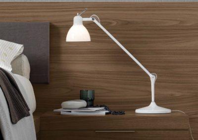 BLR Interiorismo Madrid (J01 Mesita mod Stage tirador aluminio)