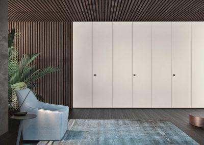 BLR Interiorismo Madrid (J.1-Armario puerta mod Plana-M41)