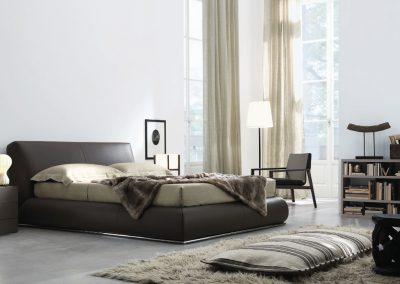 BLR Interiorismo Madrid (J01-Cama mod baldo estanteria mod Open Butaca lyl Mesitas mod Nap)