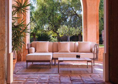 BLR Interiorismo Madrid (P04 Sofa Chaise longe mod Weave)