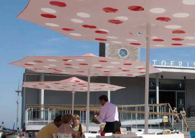 BLR Interiorismo Madrid (S12-Parasol sombrilla mod Dot)