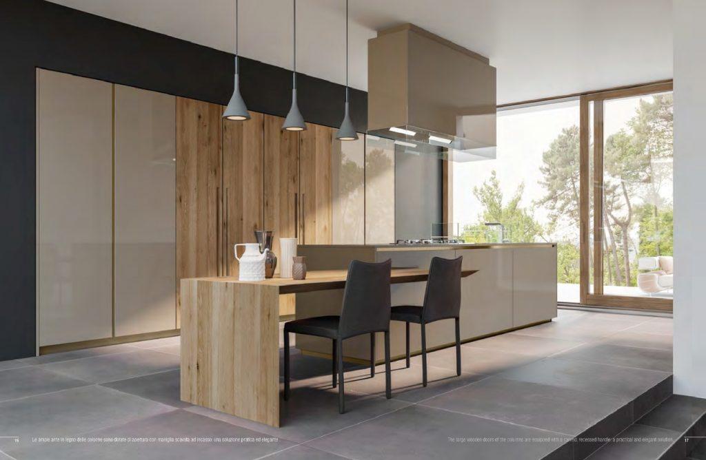 Cocinas de diseño: islas y cocinas abiertas -Estudio BLR Interiorismo