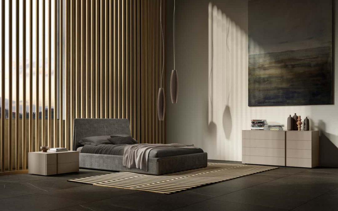 Dormitorios de matrimonio de diseño italiano