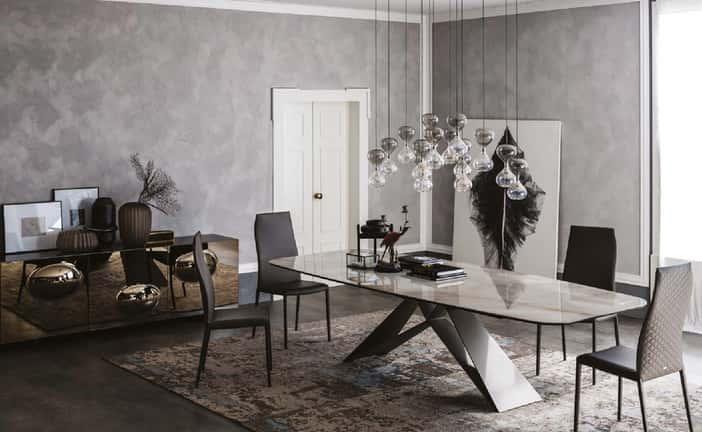 Mesas de comedor de diseño italiano, la mejor elección para tu zona de día