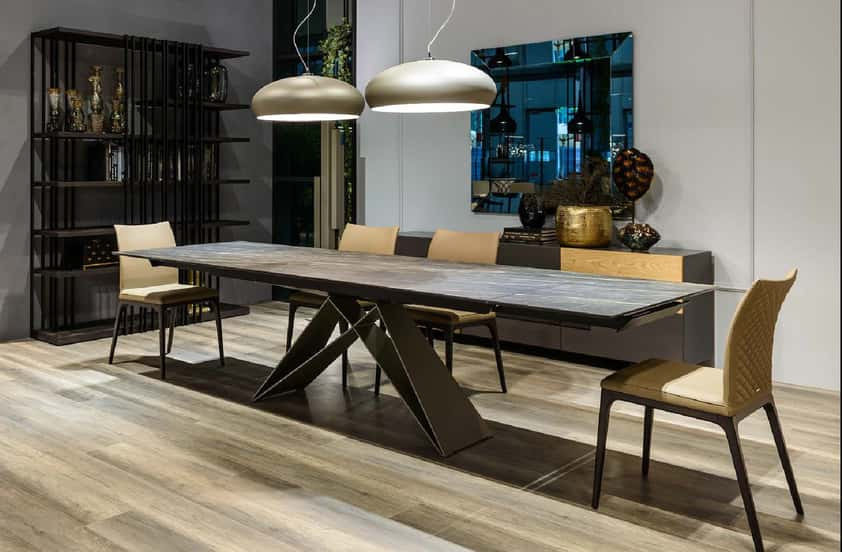 Mesas de comedor de diseño italiano, tu mejor elección