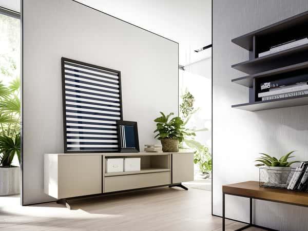 Muebles de salón diseño italiano, la vanguardia del interiorismo